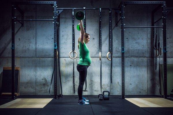 Zwanger CrossFit Ansje