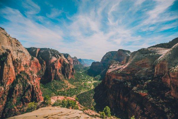 Angels Landing - Zion National Park - USA - landschap